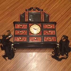 Other - NWT 3-piece musical jewelry box & door bag holder